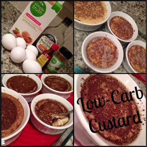 LowCarb Custard