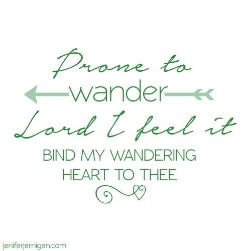 prone to wander 2