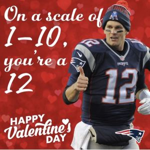 Tom Brady Valentine's Day